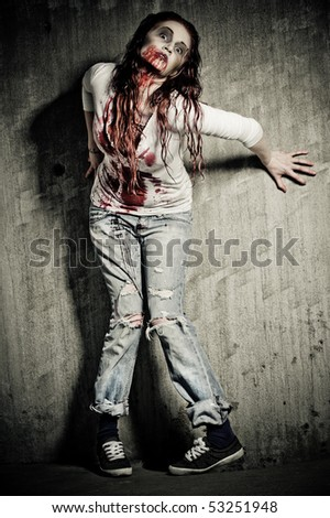 Zombie Girl Stock Photos, Images, & Pictures | Shutterstock