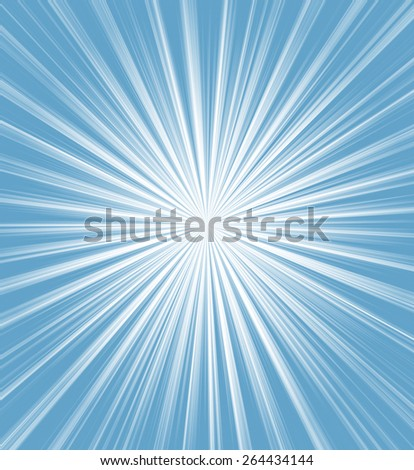 A Blue color design with a burst - stock photo