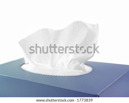 A box of tissues - stock photo