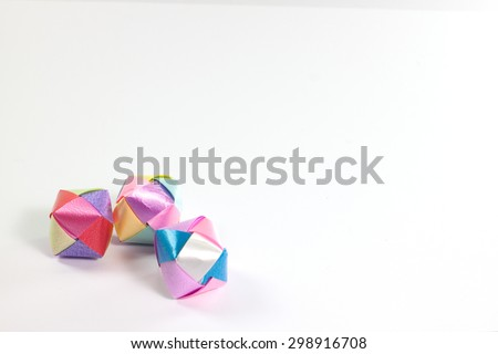 a box  ribbon with a bow on a white background