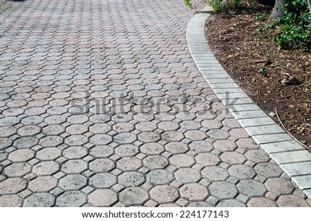 Driveway Paving Stock Images Royalty Free Images