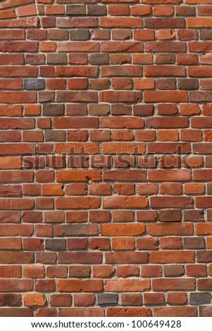 a brick wall - stock photo