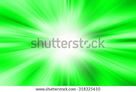 A bright green white background - stock photo