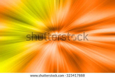 A bright Orange yellow white background - stock photo