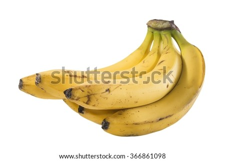 A bunch of bananas - stock photo