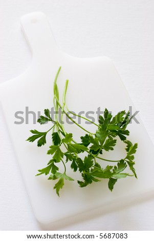 A bunch of parsley ready to be added to any dish