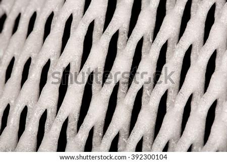 A Carpet of white alveoli - stock photo