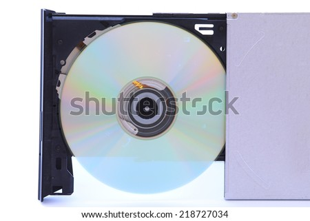 A CD-ROM with a CD