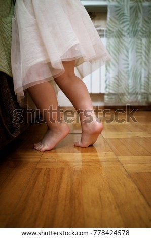 Little Girls Feet Stock Images Royalty Free Images