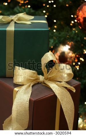 a Christmas presents