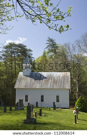A church - stock photo
