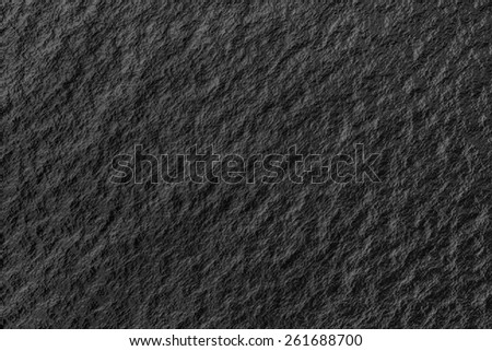 A close up of a black coal texture
