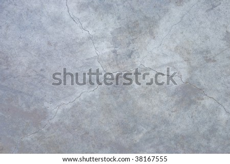 A close up on a concrete floor background texture.