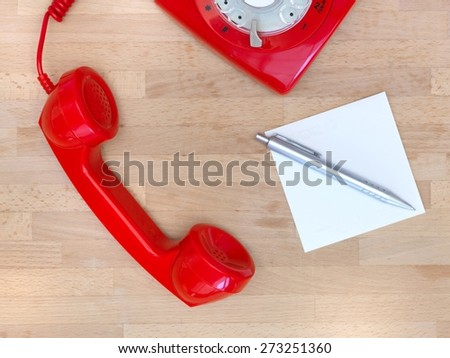 A close up shot of a vintage telephone - stock photo