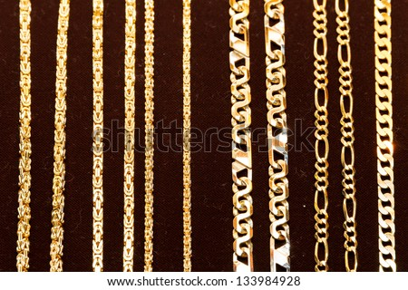 Gold Chain Stock Photos Images Amp Pictures Shutterstock