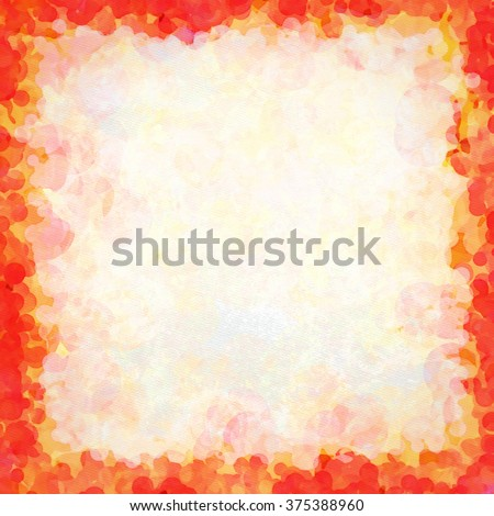 A colorful and bright abstract watercolor background