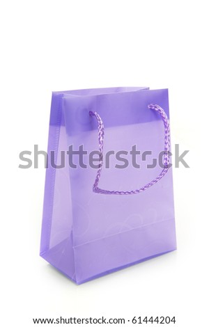 a colorful bag on a white background