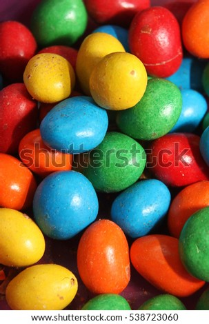 a colorful candy...