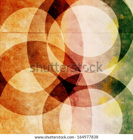 a colorful design with a shape overlay on textured pattern