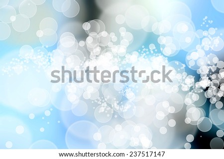 A colorful digitally created Bokeh background.