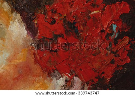 a colorful oil paint texture closeup , beautiful background art