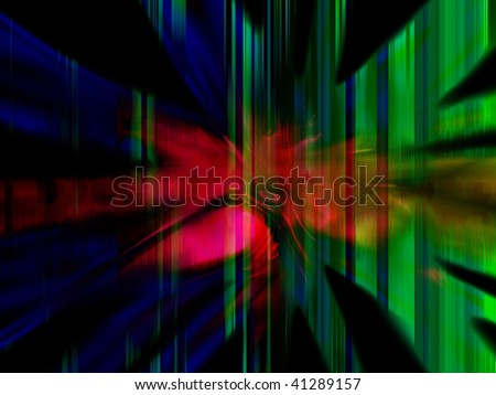 A colourful and abstract background.