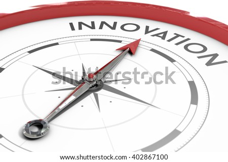 A Compass pointing to innovation