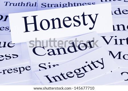 A conceptual look at honesty, condor, integrity,truthfulness,straightness. - stock photo