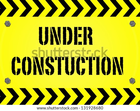 A conceptual maintanence and under construction image - stock photo
