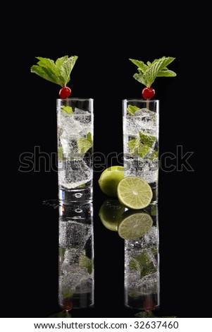 A couple of Mojitos - stock photo