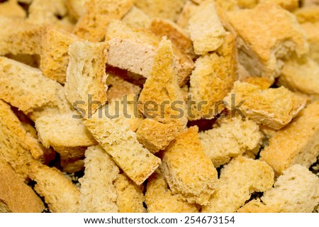 a crumbs background - stock photo