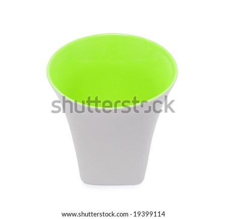 a cup isolated on white
