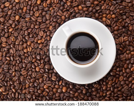 One coffee bean