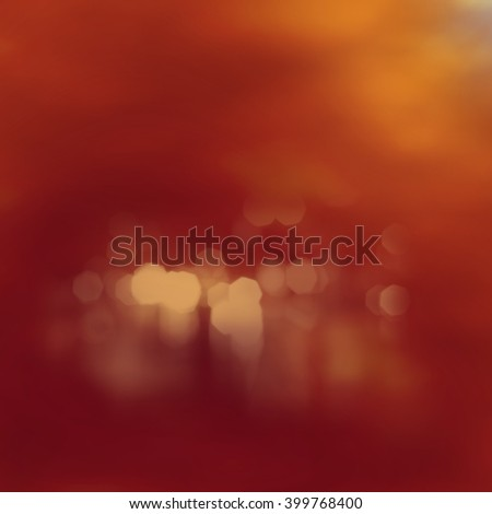 A 3d digital render of an abstract sunrise over a steamy lake. - stock photo