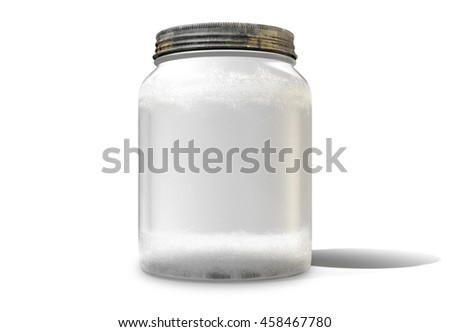 salt shaker on white background stock photo 57499000 shutterstock. Black Bedroom Furniture Sets. Home Design Ideas