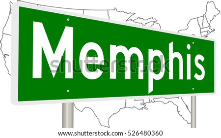 Memphis Tennessee Stock Images RoyaltyFree Images Vectors - Memphis tn on us map