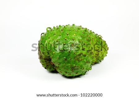 A delicious sour-sop fruit - stock photo