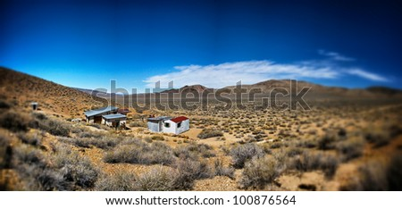 A desert ghost town battles the elements to remain in the hidden corner of Death Valley National Park.