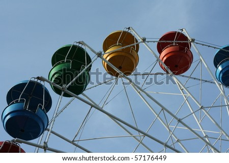 A detail of the Big wheel
