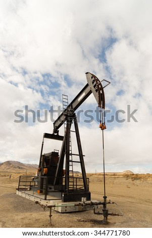 A device used for oil exploration in Wyoming