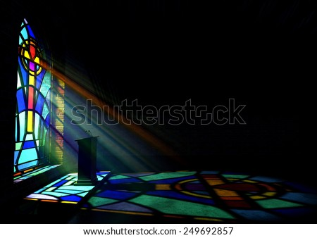 Stained Glass Window Stock Images Royalty Free Images