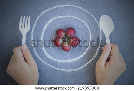Hand Holding Fork Drawing Hand Holding Plastic Fork