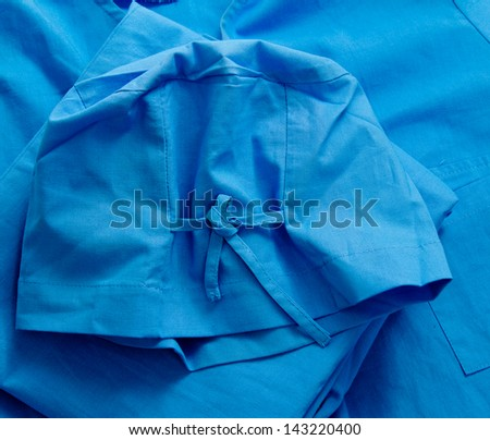 a doctors clothing - stock photo