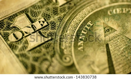 a dollar - stock photo