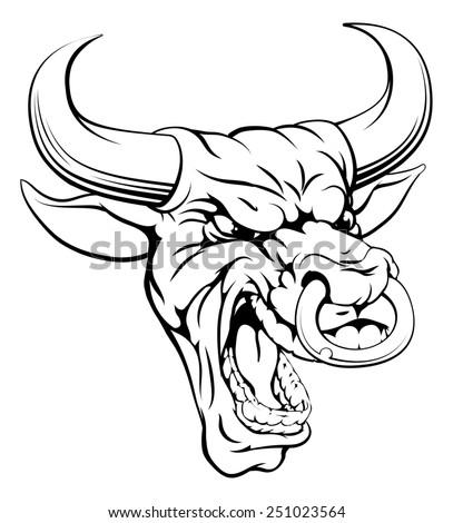 Bull+tattoo