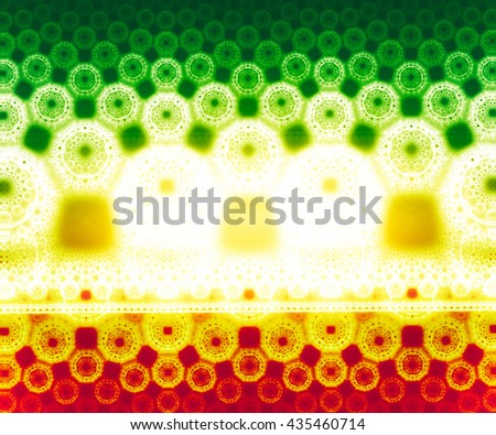 "A dynamic and dramatic abstraction bright colorful colors. For the design with a positive mood summer. The texture is blurred, is a kind of ""haze"" - stock photo"