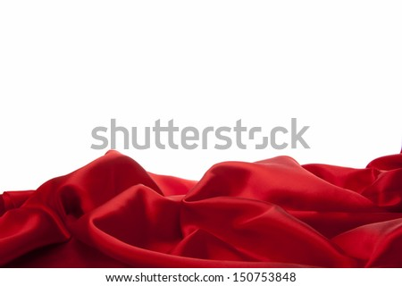 a elegant background with a colorful fabric - stock photo