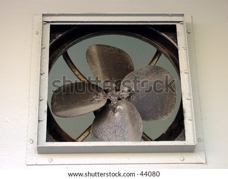 A Fan in the off position - stock photo