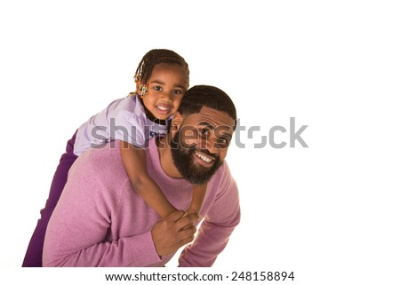 A father and his daughter