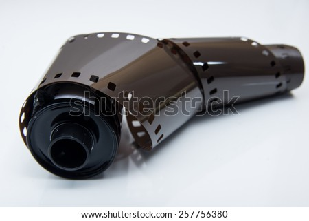 A film for analogue photography - stock photo